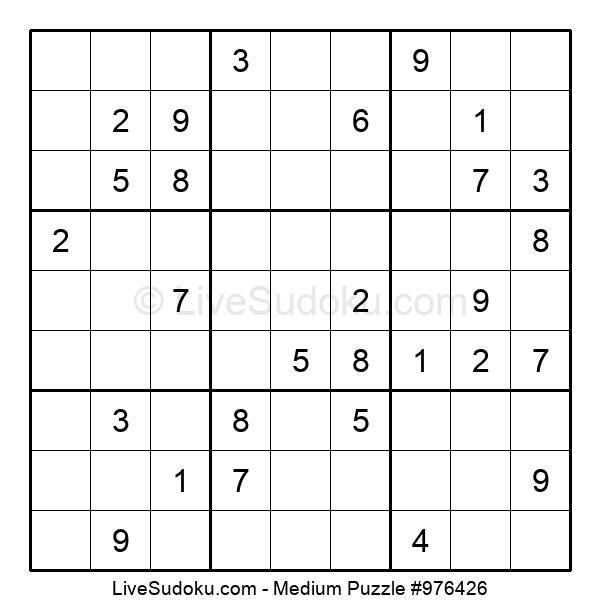 Medium Puzzle #976426