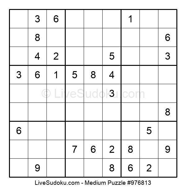 Medium Puzzle #976813