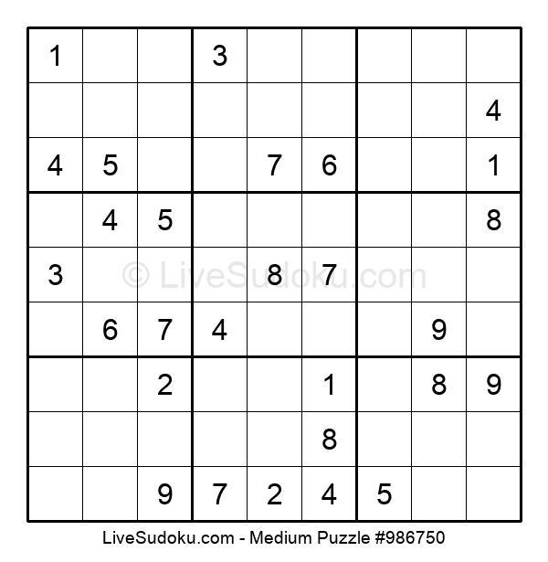 Medium Puzzle #986750