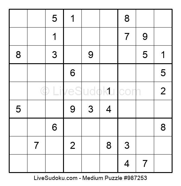 Medium Puzzle #987253