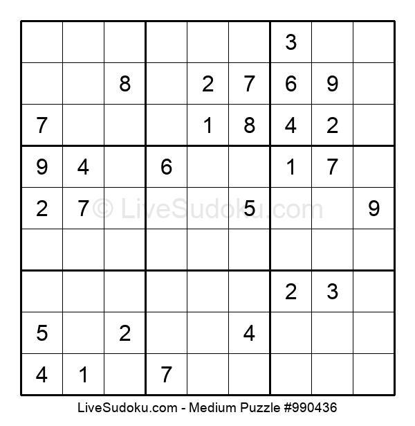 Medium Puzzle #990436