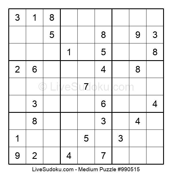 Medium Puzzle #990515