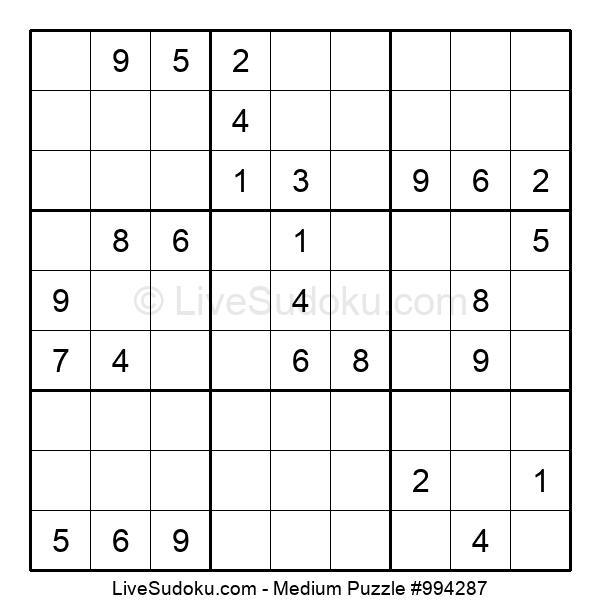 Medium Puzzle #994287