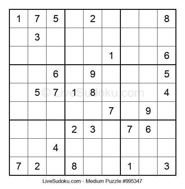 Medium Puzzle #995347