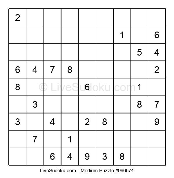 Medium Puzzle #996674
