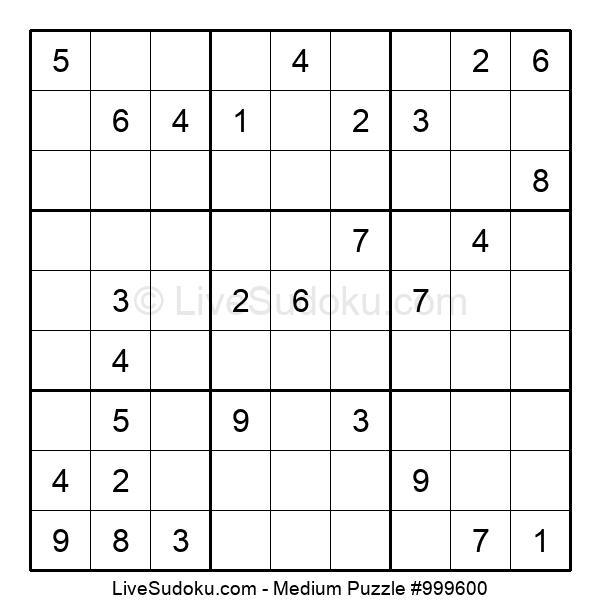 Medium Puzzle #999600
